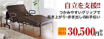 折りたたみ式介護ベッド 収納式電動利リクライニングベッド