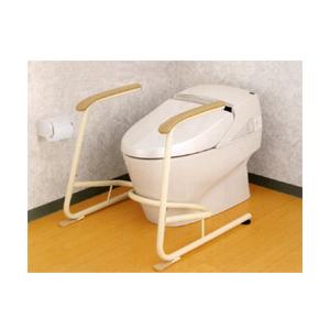 533-078 トイレ用立ち上がり補助フレーム・SUS-R