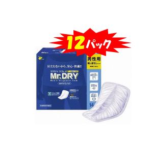 Mr.DRY男性用セルフケアパッド・14枚×12袋