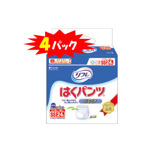 レギュラータイプ・SSサイズ(ジュニア)・24枚×4袋