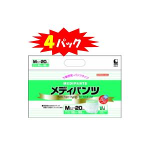 メディパンツM-20・20枚×4袋