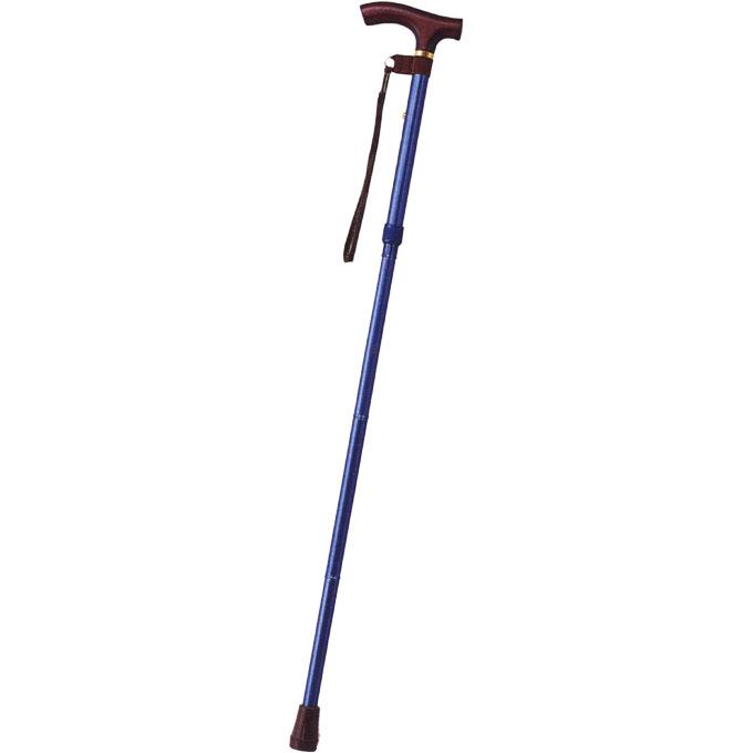 E-258 カラーピッチ付折りたたみ式杖