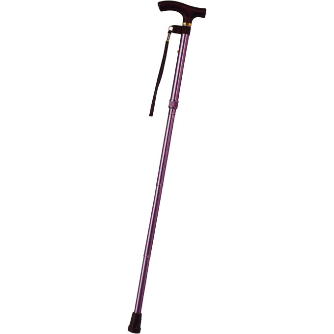 E-258カラーピッチ付折りたたみ式杖