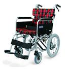 BM16-38SB-M-ABF BM16-40SB-M-ABF BM16-42SB-M-ABF 中床型のアルミフレーム介助用車椅子(ベーシックモジュール車椅子) カワムラサイクル