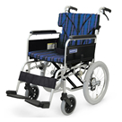 BM16-38SB-M BM16-40SB-M BM16-42SB-M 中床型のアルミフレーム介助用車椅子(ベーシックモジュール車椅子) カワムラサイクル