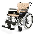 BM20-38SB-LO BM20-40SB-LO BM20-42SB-LO 低床型のアルミフレーム自走用車椅子(ベーシックモジュール車椅子) カワムラサイクル