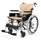 BM20-38SB-SL BM20-40SB-SL BM20-42SB-SL 超低床型のアルミフレーム自走用車椅子(ベーシックモジュール車椅子) カワムラサイクル
