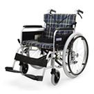 BM22-38SB-LO BM22-40SB-LO BM22-42SB-LO 低床型のアルミフレーム自走用車椅子(ベーシックモジュール車椅子) カワムラサイクル