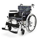 BM22-38SB-M BM22-40SB-M BM22-42SB-M 中床型のアルミフレーム自走用車椅子(ベーシックモジュール車椅子) カワムラサイクル