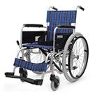 KA102-40-VS KA102-42-VS アルミフレーム自走用車椅子(ノーパンクタイヤ仕様)バリューセット カワムラサイクル