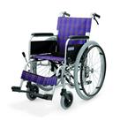 KA102B-40・42-VS アルミフレーム自走用車椅子(ノーパンクタイヤ仕様)バリューセット カワムラサイクル