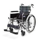 KA102SB-40 KA102SB-42 アルミフレーム自走用車椅子(ノーパンクタイヤ仕様) カワムラサイクル