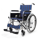 KA202-40 KA202-42 アルミフレーム自走用車椅子(エアータイヤ仕様) カワムラサイクル