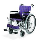 KA202B-40・42 アルミフレーム自走用車椅子(エアータイヤ仕様) カワムラサイクル