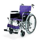 KA202B-40・42-VS アルミフレーム自走用車椅子(エアータイヤ仕様)バリューセット カワムラサイクル