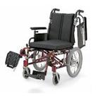 KA716-38B-LO KA716-40B-LO KA716-42B-LO アルミフレーム介助用車椅子(モジュール車椅子) カワムラサイクル