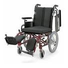 KA716-38ELB-LO KA716-40ELB-LO KA716-42ELB-LO アルミフレーム介助用車椅子(モジュール車椅子) カワムラサイクル