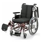 KA720-38B-H KA720-40B-H KA720-42B-H アルミフレーム自走用車椅子(モジュール車いす) カワムラサイクル