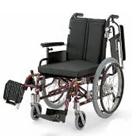 KA720-38B-LO KA720-40B-LO KA720-42B-LO アルミフレーム自走用車椅子(モジュール車椅子) カワムラサイクル