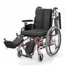 KA720-38ELB-M KA720-40ELB-M KA720-42ELB-M アルミフレーム自走用車椅子(モジュール車椅子) カワムラサイクル