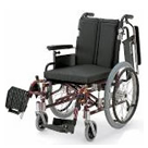 KA722-38B-H KA722-40B-H KA722-42B-H アルミフレーム自走用車椅子(モジュール車椅子) カワムラサイクル