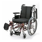 KA722-38B-LO KA722-40B-LO KA722-42B-LO アルミフレーム自走用車椅子(モジュール車椅子) カワムラサイクル