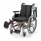 KA722-38B-M KA722-40B-M KA722-42B-M アルミフレーム自走用車椅子(モジュール車椅子) カワムラサイクル