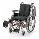 KA722-38B-SH KA722-40B-SH KA722-42B-SH アルミフレーム自走用車椅子(モジュール車椅子) カワムラサイクル