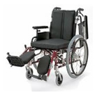 KA722-38ELB-LO KA722-40ELB-LO KA722-42ELB-LO アルミフレーム自走用車椅子(モジュール車椅子) カワムラサイクル
