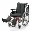 KA722-38ELB-M KA722-40ELB-M KA722-42ELB-M アルミフレーム自走用車椅子(モジュール車椅子) カワムラサイクル