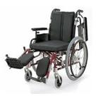 KA722-38ELB-SH KA722-40ELB-SH KA722-42ELB-SH アルミフレーム自走用車椅子(モジュール車椅子) カワムラサイクル