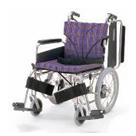 KA816-38B-LO KA816-40B-LO KA816-42B-LO アルミフレーム介助用車椅子(簡易モジュール) カワムラサイクル