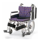KA816-38B-M KA816-40B-M KA816-42B-M アルミフレーム介助用車椅子(簡易モジュール) カワムラサイクル