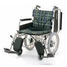 KA816-38ELB-LO KA816-40ELB-LO KA816-42ELB-LO アルミフレーム介助用車椅子(簡易モジュール) カワムラサイクル