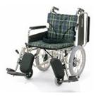 KA816-38ELB-M KA816-40ELB-M KA816-42ELB-M アルミフレーム介助用車椅子(簡易モジュール) カワムラサイクル