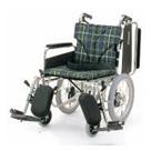 KA816-38ELB-SL KA816-40ELB-SL KA816-42ELB-SL アルミフレーム介助用車椅子(簡易モジュール) カワムラサイクル