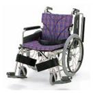 KA820-38B-M KA820-40B-M KA820-42B-M アルミフレーム自走用車椅子(簡易モジュール) カワムラサイクル