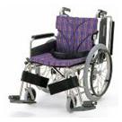KA820-38B-SL KA820-40B-SL KA820-42B-SL アルミフレーム自走用車椅子(簡易モジュール) カワムラサイクル