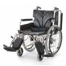 KA820-38ELB-M KA820-40ELB-M KA820-42ELB-M アルミフレーム自走用車椅子(簡易モジュール) カワムラサイクル