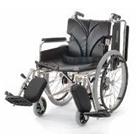 KA820-38ELB-SL KA820-40ELB-SL KA820-42ELB-SL アルミフレーム自走用車椅子(簡易モジュール) カワムラサイクル
