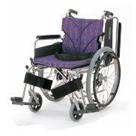 KA822-38B-H KA822-40B-H KA822-42B-H アルミフレーム自走用車椅子(簡易モジュール) カワムラサイクル