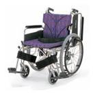 KA822-38B-LO KA822-40B-LO KA822-42B-LO アルミフレーム自走用車椅子(簡易モジュール) カワムラサイクル