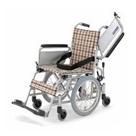 KAK16-40 アルミフレーム介助用車椅子六車輪(介助ブレーキなし)こまわりくん16 カワムラサイクル