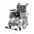 KAK16-40B アルミフレーム介助用車椅子六車輪(介助ブレーキ付)こまわりくん16B カワムラサイクル