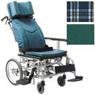 KXL16-42 ティルティング&リクライニング車椅子・ソフトタイヤ仕様 カワムラサイクル