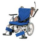 KZ16-38-SSL KZ16-40-SSL KZ16-42-SSL アルミフレーム介助用車椅子(低床型簡易モジュール) カワムラサイクル