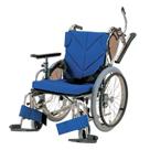 KZ20-38-LO KZ20-40-LO KZ20-42-LO アルミフレーム自走用車椅子(低床型簡易モジュール) カワムラサイクル