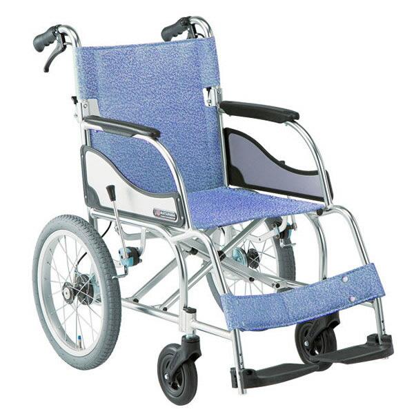 MW-SL21B アルミ介助式車椅子エアリアル(MW-SL2Bの後継機種)