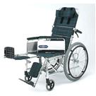 NA-117B アルミ自走式リクライニング車椅子 日進医療器