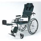 NA-117Bデスク アルミ自走式車椅子 日進医療器